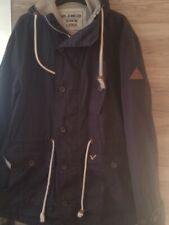 Mens Blue Voi Light weight Hooded jacket - size Large