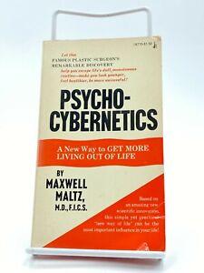 Psycho-Cybernetics by Maxwell Maltz (1974 +, Mass Market)