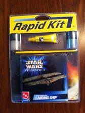 1999 Rapid Kit Star Wars Ep 1 AMT-ERTL Trade Federation Landing Ship