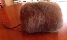 Genuine Rabbit Hand Muff Warmer Real Fur Child's Small Excellent Condition