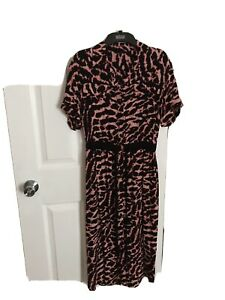 Next Animal Print Dress Size 10