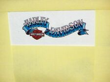 HARLEY DAVIDSON MOTORCYCLES BAR & SHIELD BANNER INSIDE Windshield Decal Sticker