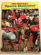1971 Sports Illustrated SAN FRANCISCO 49ers JOHN BRODIE NFL Preview NO LABEL N/L