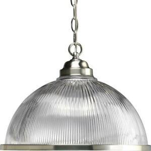 Progress Lighting 1-Light Brushed Nickel Pendant ( P5103-09 )