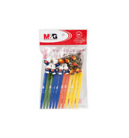 Old Stock Twelve 12 Hallmark Pencils with Cat Toppers.