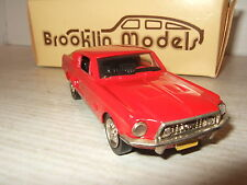 Rare Brooklin BRK 24A 1968 Ford Mustang Fastback in 1:43 Scale.