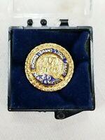 50 Years a Mason Lapel Pin Grand Lodge of Indiana Gold Tone