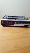 Vintage GE Spacemaker AM FM Clock Radio Model 7-4217A General Electric