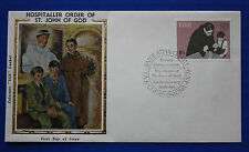 "Ireland (457) 1979 Hospitaller Order of St. John of God Colorano ""Silk"" FDC"
