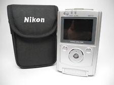 Nikon CoolWalker Msv-01 Silver Digital Media Player in Case No Charger Bundle