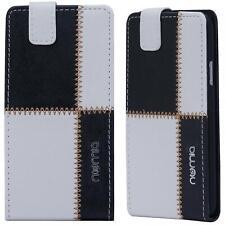 Handy Tasche HTC One M8 M7 Schutz Hülle Klapptasche HTC Desire Cover Case Wallet