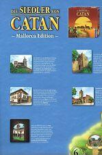 The Settlers of catan-mallorca edition-spielkarte-karte-map-neu-sehr RARE