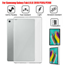 For Samsung Galaxy Tab A 8.0 & S Pen (2019)/P200/P205 Shockproof TPU Clear Case