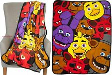 New Licensed Five Nights at Freddys Multi Character Throw Free USA Ship