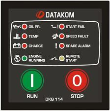 DATAKOM DKG-114 Generator Manual and Remote Start Controller Panel