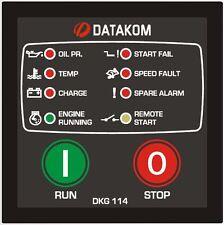 DATAKOM DKG-114 Manual/Remote Start Generator Controller Panel
