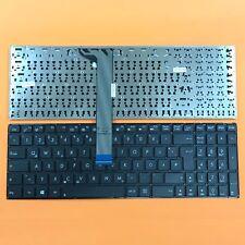 DEUTSCHE - Schwarz Tastatur Keyboard Ohne Rahmen komp. für ASUS F751LAV, F751M