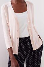 Ann Taylor LOFT 3/4 Sleeve Signature V-Neck Cardigan Size Large NWT Rosebud Pink