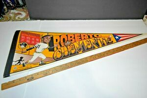 1994 Roberto Clemente Pennant Pittsburgh Pirates Wincraft  FREE SHIP