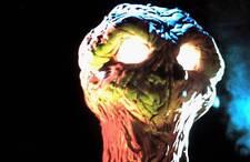 35mm color slide of the alien from the classic Star Trek SPECTRE OF THE GUN