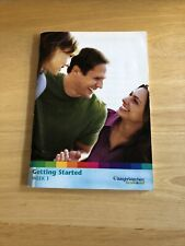 Weight Watchers GETTING STARTED INFO BOOK Point Chart Explained Program ANSWERS