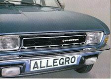 Austin Allegro Series 2 1100 1300 1500 1750 1978-79 Original UK Sales Brochure