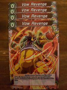 4x Vow Revenge - Dragon Ball Super Card Game