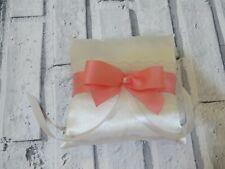 Wedding Ring Pillow,  Ring Cushion,  Satin Ring Pillow, Wedding Party Decoration