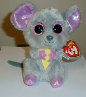 Ty Beanie Boos - SQUEAKER the Mouse (6 Inch) NEW - MINT with MINT TAGS