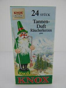 German Knox Pine 24 Incense Cones w/ Box New