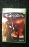Velvet Assassin Microsoft Xbox 360 Complete Southpeak Video Game Rare Tested