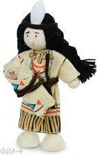 Le Toy Van - Budkins BK947 - Biegepuppe Indianer Wakanda für Puppenhaus