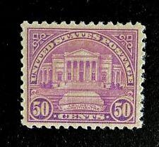 US Stamps, Scott #701 50c 1931 XF  M/LH. Nice centering.