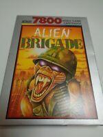 ATARI 7800 --> ALIEN BRIGADE  // MIT ORIGINALVERPACKUNG UND ANLEITUNG //