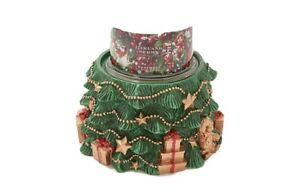 HomeWorx Harry Slatkin Christmas TREE Candle Holder Pedestal New