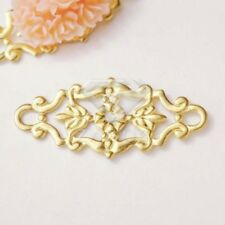 20pcs Filigree Metal Links Craft Jewellery Making Lots 27x12x0.5mm MB0563