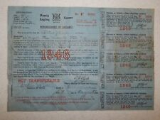 1946 Ontario Canada Family Angling Fishing License with all Licenses attached!