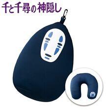 Marushin Spirited Away Neck Pillow Cushion Kaonashi No-Face Travel Airplane Bus