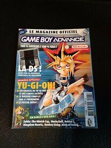 LE MAGAZINE OFFICIEL NINTENDO GAME BOY ADVANCE N 5 GBA DS YU-GI-OH ZELDA MARIO