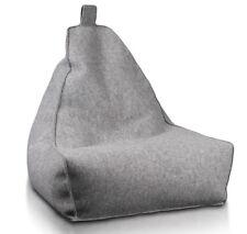 Keiko S aus Filz 180 l Sitzsack Sitzkissen Sitzsäcke Bodenkissen Beanbag Sessel
