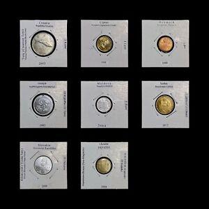 EUROPE. Job Lot, 1986-2012, European Coins x 8