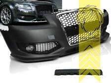 Frontstoßstange für Audi A3 8P auch für S3 und S-Line Grill schwarz chrom