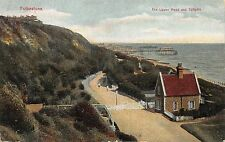 BR62672 the lower road and tollgate folkestone   uk