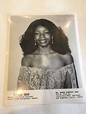 1980 8 x 10 Photo Signed Autographed Singer ARLENE BELL d