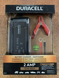 Duracell 2 AMP Battery Charger & Maintainer DRMC2A Vehicles Boats & Motorcycles