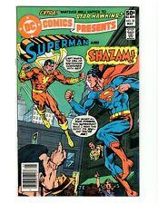 DC COMICS PRESENTS #33 (FN) 1981 SUPERMAN AND SHAZAM