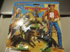 Britains Wild West 2 Cowboys & 1 Mexican on Horseback 1996 new on card