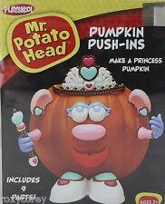 Halloween Mr Potato Head Pumpkin Push In Princess Costume 9 Parts NIB