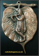 KRISHNA KISHAN MOHAN GOPAL KESHAV STATUE IDOL WALL HANGING METAL HINDU GOD LORD