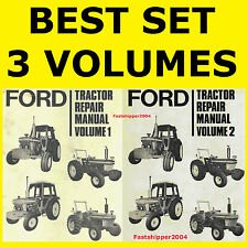 Ford 2600 3600 4100 4600 5600 6600 6700 7600 7700 Tractor Service Manual CD/ DVD